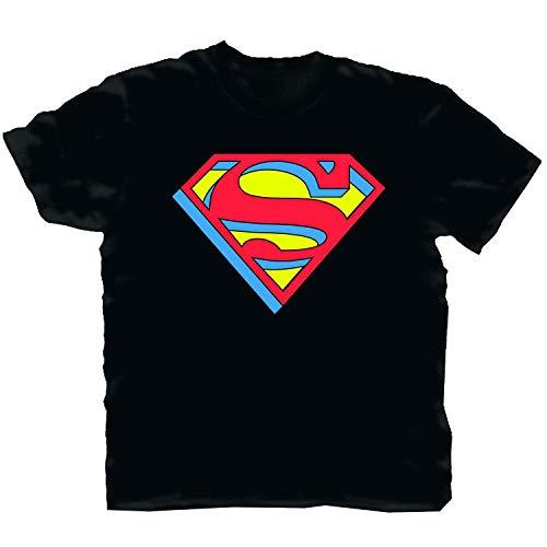 Toy Zany Superman Extruded Logo Black...