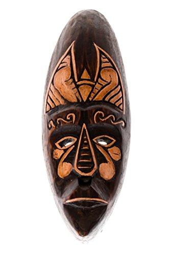 30cm Madera Maske Mascara Careta caratula Esculture Figura Africa Esculpir HM3000010