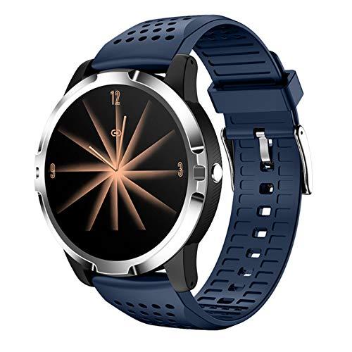oneforus Go3 Smart Pulsera Pantalla Redonda ECG Podómetro Bluetooth Reloj Deportivo Impermeable, Pulsera Deportiva, Reloj Inteligente,I