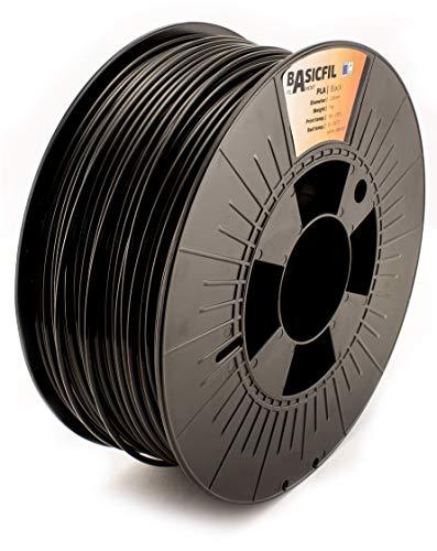 BASICFIL PLA 2.85mm 1 kg, SCHWARZ (black), 3D Drucker Filament