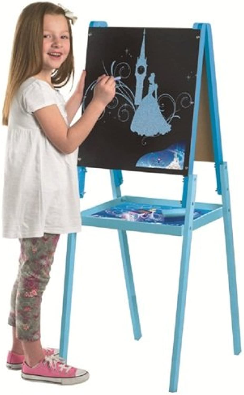 Disney Cinderella large wooden floor standing Art easel by New World Toys