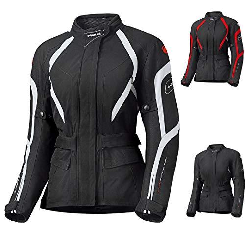 Held Shane Damen Motorradjacke, Farbe schwarz-Weiss, Größe XS