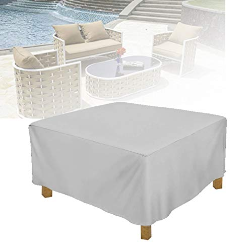 ASPZQ Outdoor Furniture Cover, Lounge Porch Sofa Waterproof Dust-Proof Protective for Garden Loveseat Patio Cover (Color : Gray, Size : 200x160x70cm)