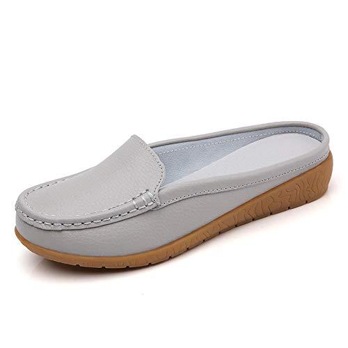 Été Sandales Antidérapantes pour Femmes,Bonnets de printemps et d'été, semelle souple, antidérapants, sandales mi-longues pour femmes-G_41
