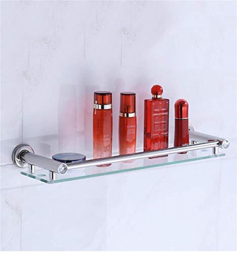 SLINGDA Handdoek Rail Rack Badkamer Rekken RVS Toilet Enkele Laag Dikke Planken Toilet Muur Cosmetische lade