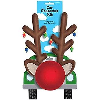 Amscan 393236 Reindeer Car Character Plush Outdoor Kit