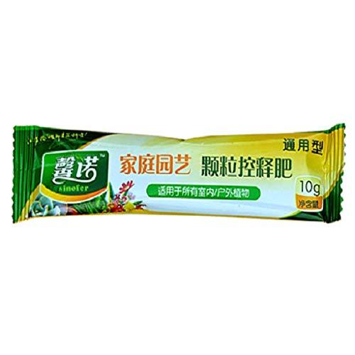 Haijun 10g Universal Granule Particules Plantes Aliments Engrais à Libération Lente pour La Maison Jardin en Pot Fleur Plante Légumes Succulentes