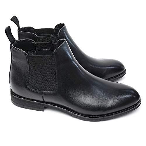 [マドラス] Walk 防水 防滑 ブーツ SPMW5909 メンズ サイドゴア ゴアテックス 本革 日本製 GORE-TEX EEEE Made in Japan ブラック 26.5cm