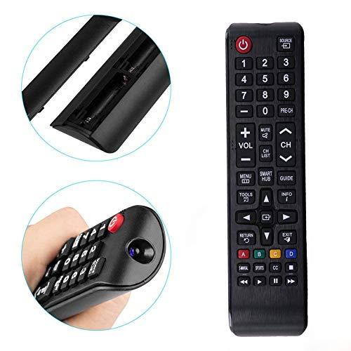Universelle Télécommande pour Samsung Smart TV BN59-01175N AA59-00603A AA59-00741A AA59-00786A Compatible avec tous les téléviseurs Samsung