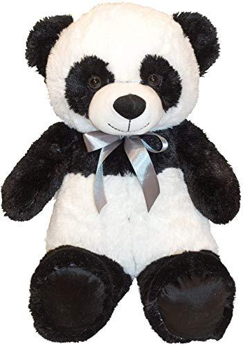 Lifestyle & More Kuscheliger Pandabär Kuschelbär Panda 60 cm groß Plüschbär Kuscheltier samtig weich - zum liebhaben