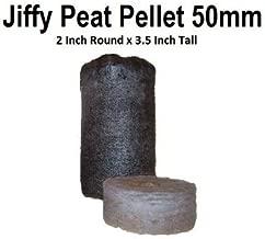 150 Jiffy 7 Peat Pellets 50mm - Large Pellets - Seeds Starting - Jiffy Peat Pellet Helps to Avoid Root Shock