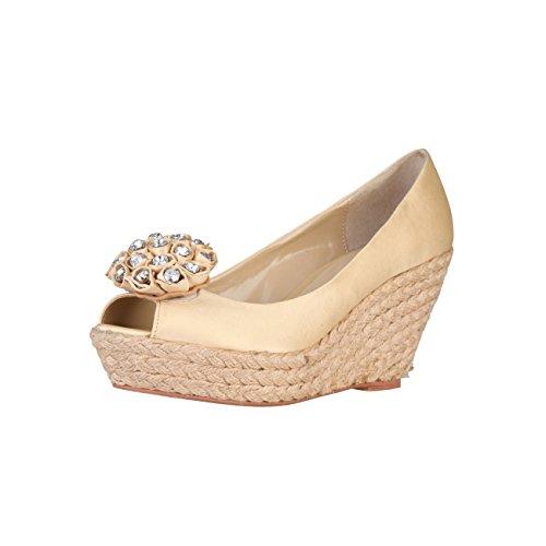 Primadonna PR22-01ATES_Beige - Zapatos de tacón alto para mujer, talla 37, color Beige, talla 37 EU
