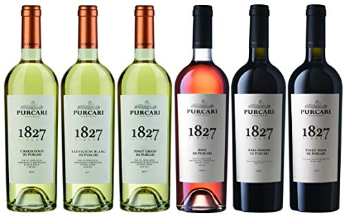 Chateau Purcari   Weinpaket Purcari – verschiedene moldawische Qualitätsweine 6 x 0.75 L