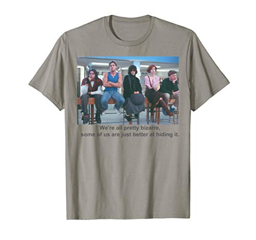 Breakfast Club We're All Pretty Bizarre Graphic T-Shirt for Adults or Kids, S to 3XL