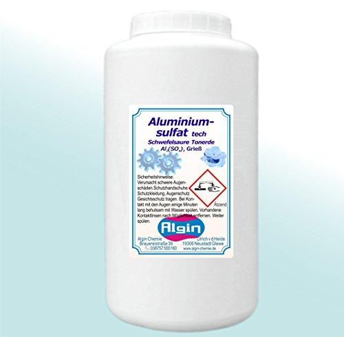 Aluminiumsulfat 1 kg tech Hortensien Azaleen Blütenblau Isoliersalz Flockungsmittel
