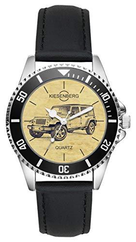 Regalo Jeep Wrangler Fan Conductor Kiesenberg Reloj L-6289