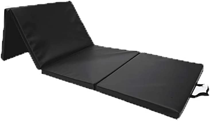 LIYOUPIN Black Fitness Mat Folding Male Daily bargain sale Female and Rapid rise