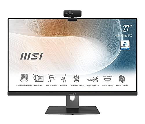 "MSI Modern AM271P 11M-025EU - All In One, 27"" IPS FHD 1920x1080, Intel Core i7-1165G7, Anti-Glare, negro"