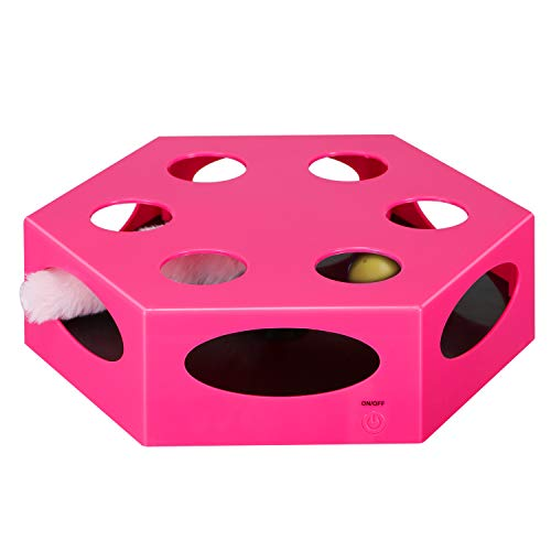 YUEJING Cat Toy Electric Upgrade, Interactive Cat...