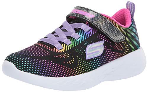 Skechers GOrun 600 Shimmer Speed Sneaker Kinder schwarz/bunt, 31 EU