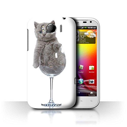 Stuff4 Var voor HTC-CC Leuke Kittens HTC Sensation XL/G21 Wijnglas