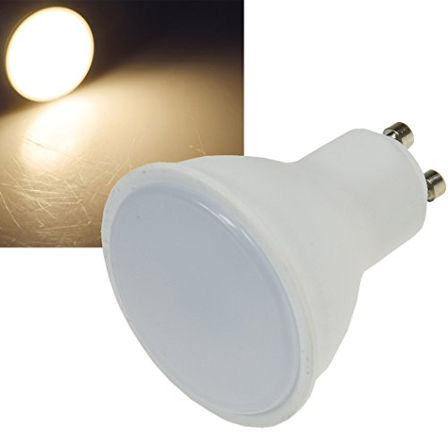 ChiliTec LED Strahler GU10 Sockel RA95 5 Watt I 380lm I 230V I 110° I Ø50mm I 2900k / Warmweiß