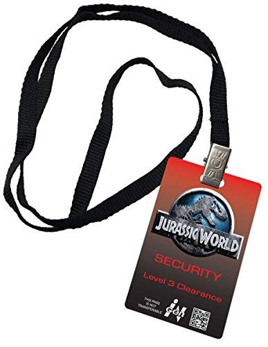 Jurassic World Level 3 Clearance Novelty ID Badge Prop Costume