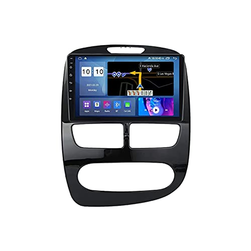 YLCCC Android 10.0 GPS Navigazione Auto Radio Stereo per Clio 4 2012-2016 Multimedia Player FM Récepteur Supporto WiFi SWC Carplay Bluetooth DSP IPS Touch Screen,M600S