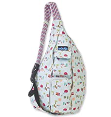 High Quality Material - Made from soft, tightly woven 100% 12 oz Cotton Canvas. Dimensions 20 x 11 x 3 inches. The Original Adventure Organizer - The Rope Bag is built to make your day run smoother. Two main pockets pack clothes or water bottles, wit...