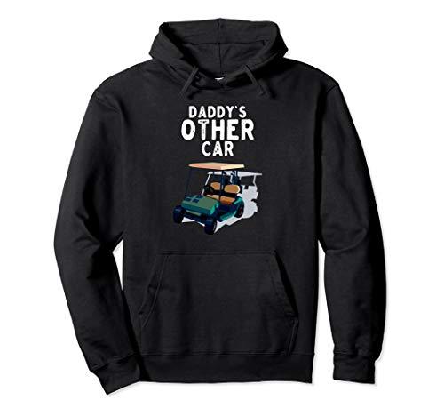 Das andere Auto des Vaters Golfclub-Spieler-Golfmobil Pullover Hoodie