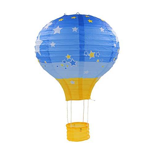 Gespout.Decoración de Globo Aerostático Linternas de Papel Centro Comercial Celebración Supermercado Actividad Ventana Decoración Adornos de Techo