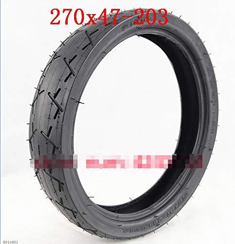 Without brand 270x47-203 Pneunatic Rad Tire10 Zoll-Reifen und Schlauch for Baby Wagen, Kind Dreirad, Fahrrad, Elektro-Folding Auto, Mini Bike (Farbe : B Set)