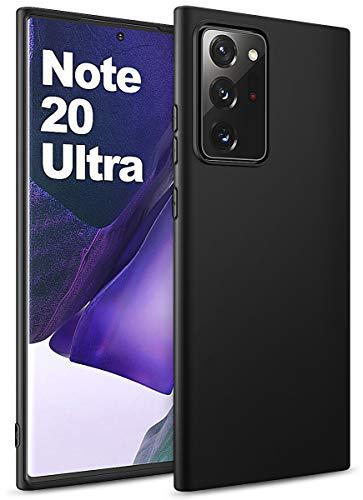 BENNALD Hülle für Samsung Galaxy Note 20 Ultra Hülle, Soft Schutzhülle Hülle Cover - Premium TPU Tasche Handyhülle für Samsung Galaxy Note 20 Ultra (Schwarz,Black)