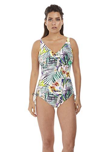 Fantasie Swim Playa Blanca Badeanzug mit Bügel, verstellbare Beine Gr. 85D, Multi
