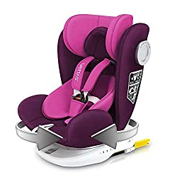 LETTAS Baby Car Seat With Rotation