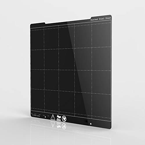 XIANYUNDIAN Ender3 Prusa I3 MK3 MK3SためにコーティングMK3 I3春鋼板質感PEIフィルム印刷プラットフォームプレート254 * 241MM Heatbedパワー 補修部品 (Size : MK3 Steel Plate)