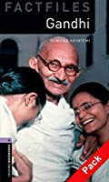 Oxford Bookworms Library Factfiles: Level 4:: Gandhi audio CD pack (Oxford Bookworms ELT)