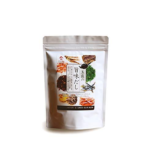 だし 無添加 和風だし だしパック 出汁 パック 【国産の厳選素材7種を使用】 化学調味料・保存料不使用 あごだし 鰹ふりだし だしの素 家庭で簡単料亭の味 [京都宇治ヤマサン] 玉露の旨味だし(8g×15包)