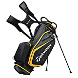 TaylorMade 2019 Golf Select Stand Bag, Black/Gold