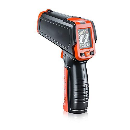 zmart デジタル 赤外線温度計 非接触 温度銃 レーザー ハンドヘルド IR温度銃 カラフルなLCDディスプレイ -50〜580℃