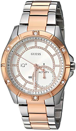 Guess Brooke Ladies Active Rose Gold, Silver Smartwatch Smartwatch - (8760 H, Rose Gold, Zilver)