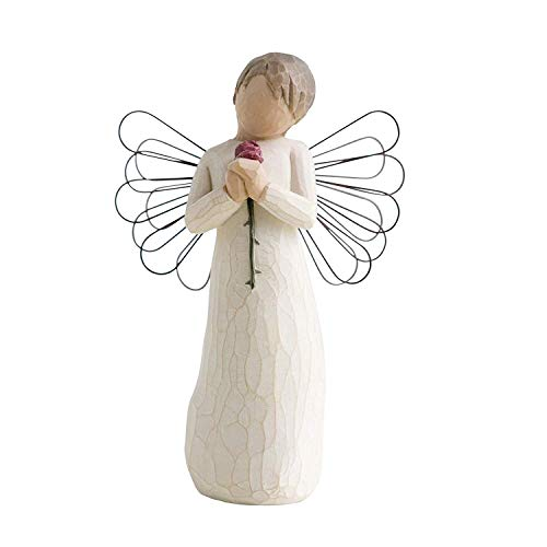 Willow Tree 26080 Engel der Liebe Figur, 13,5 cm