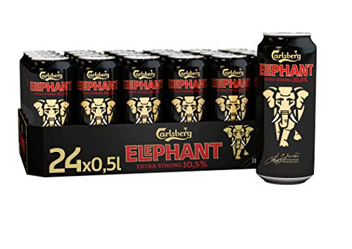 Carlsberg Elephant Extra Strong Bockbier, Dose Einweg (24 x 0.5 l)