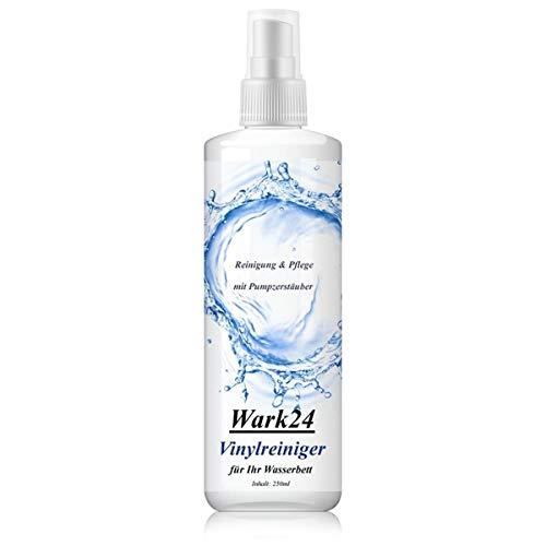 Wark24 Wasserbett Vinylreiniger 250ml - Reinigung & Pflege - mit Pumpzerstäuber - für Wassermatratzen/Wasserbetten (1er Pack)