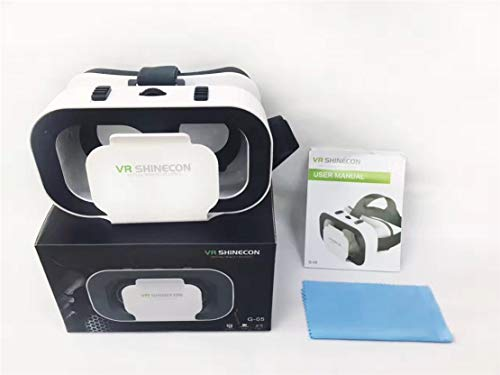 WEIGZ VR Gafas VR-Box Realidad Virtual Gafas 3D Cabeza montada