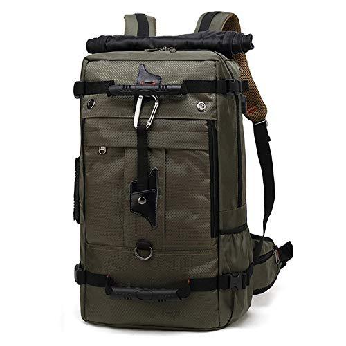 Hanggg Mochila multifunción de viaje tres con versión mejorada de la mochila para estudiantes mochila para computadora a prueba de agua al aire libre