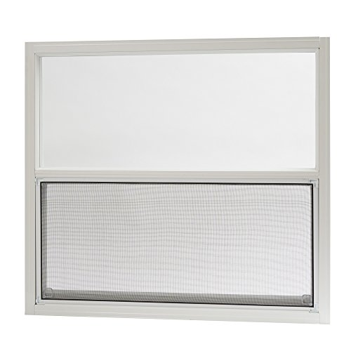 Park Ridge Products AMHW3027PR Park Ridge White Aluminum Mobile Home Single Hung Window, 30