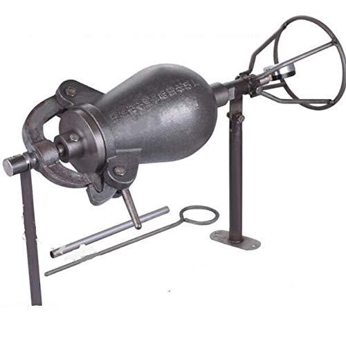 Tqing 2KGHand Popcornmaschine Puffing Maschine, Friteuse Kanone Feuer Popcornmaschine