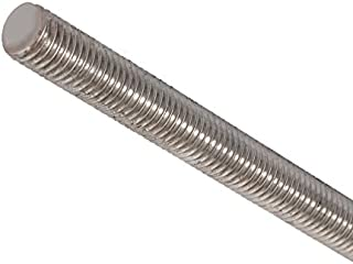 18-8 Stainless Steel Fully Threaded Rod, 1/4