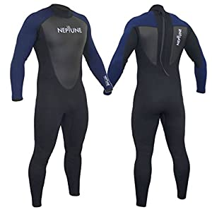 Gul Neptune Mens Full Length 3/2mm Wetsuit Surfing Sailing Jetski Canoe Swimming